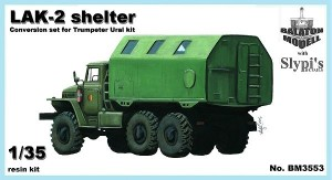 BM3553     LAK-2 shelter for Trumpeter Ural-375/4320 kit (thumb17369)