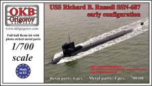 OKBN700108    USS Richard B. Russell SSN-687, early configuration (thumb16678)