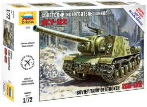 ZV5054    Советский истребитель танков ИСУ-122 (thumb18485)