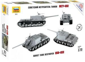 ZV5054    Советский истребитель танков ИСУ-122 (attach1 18485)