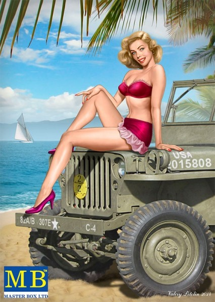 MB24006   Pin-up series, Kit No.6 Samantha (thumb17930)