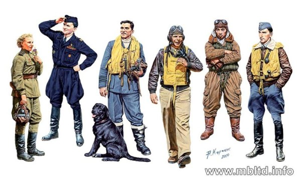 MB3201   Famous pilots of WWII. kit 1 (thumb17942)