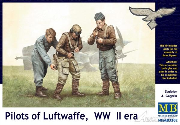 MB3202   Pilots of Luftwaffe, WW II era. Kit 1 (thumb17944)