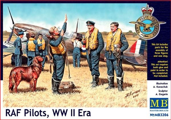 MB3206   RAF pilots, WWII era (thumb17946)