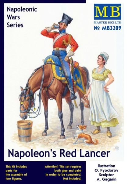 MB3209   Napoleon's Red Lancer, Napoleonic Wars Serie (thumb17952)