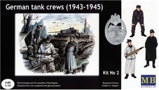 MB3508   German tank crews, 1943-1945. kit #2 (thumb17956)