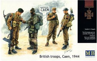 MB3512   British troops, Caen, 1944 (thumb17960)