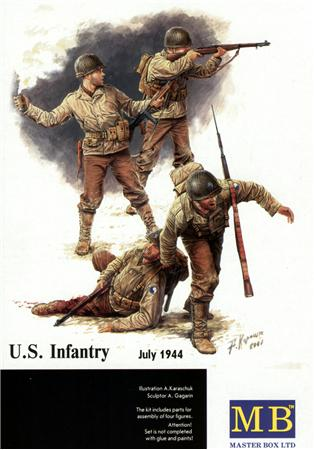 MB3521   US infantry, July 1944 (thumb17974)