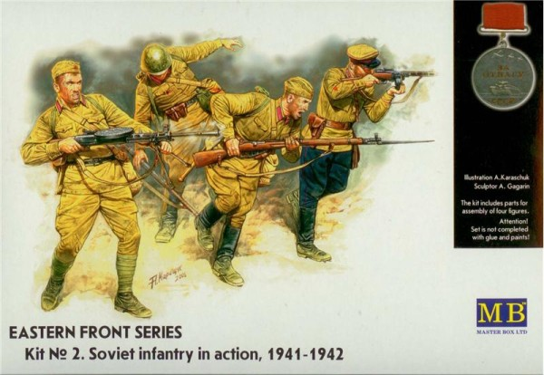 MB3523   Frontier fight of summer 1941, Russian Infantry (thumb17978)