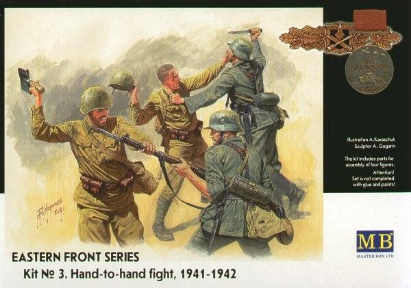 MB3524   Frontier fight of summer 1941, hand to hand combat (thumb17980)