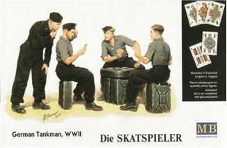 MB3525   Skatspieler' WWII German tankmen (thumb17982)