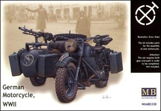 MB3528   WWII German motorcycle BMW R75 (thumb17988)