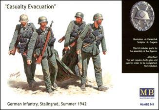 MB3541   Casualty  Evacuation, Stalingrad, 1942 (thumb18014)