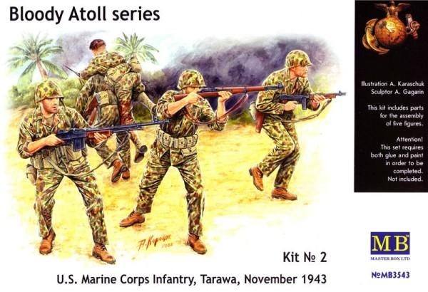"MB3543   ""Bloody Atol"" U.S. Marine Corps Infantry,  Tarawa, 1943 (thumb18018)"