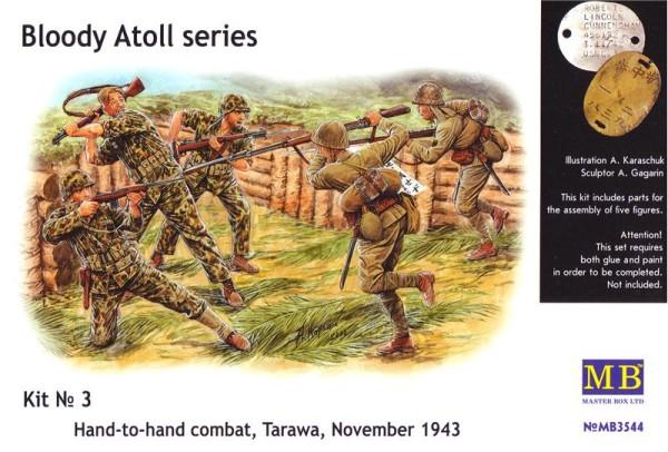 "MB3544   ""Bloody Atol"" Hand-to-hand fight, Tarawa, 1943 (thumb18020)"