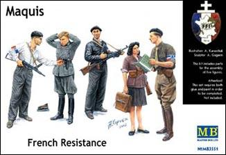 MB3551   Maquis, French Resistance (thumb18034)