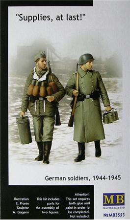 MB3553   Supplies, at last! German soldiers, 1944-1945 (thumb18038)