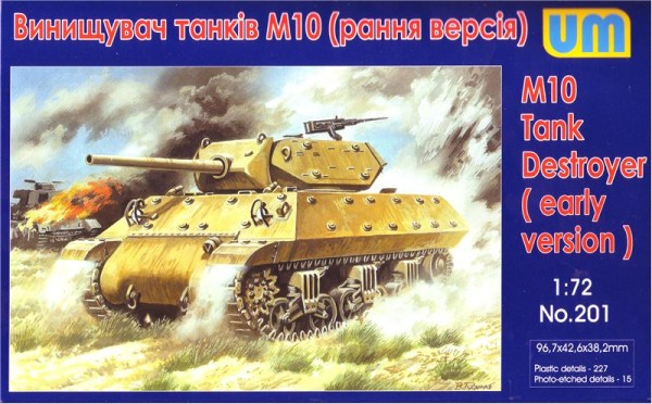 UM201   M10 tank destroyer, early version (thumb15725)