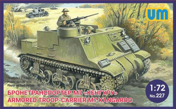 "UM227   Armored troop-carrier M7 ""Kangaroo"" (thumb16615)"