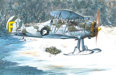 RN401   Gloster Gladiator Mk. II (thumb19658)