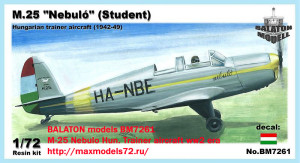 BM7261     M-25 Nebulo Hun. Trainer aircraft ww2 era (thumb19262)