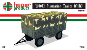 HP72033   WWII. HUNGARIAN TRAILER for TRUCKS (UHRI MANUFACT.) (thumb18338)