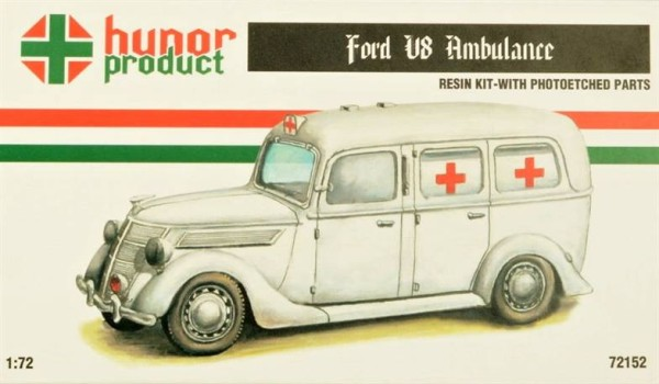 HP72152   FORD V8 AMBULANCE (thumb18351)