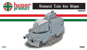 HP72202   Armoured Train  Gun carriage (thumb18355)
