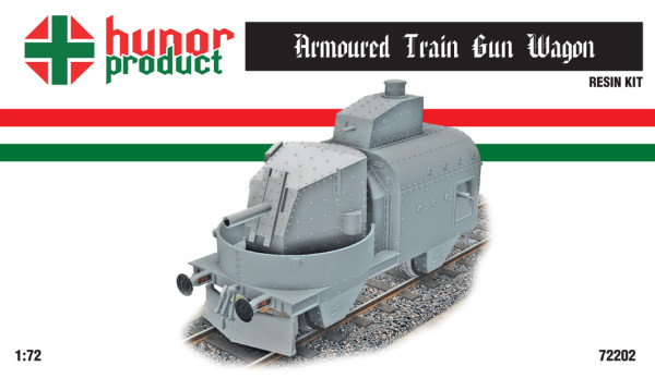 HP72202   Armoured Train  Gun carriage (thumb18355)