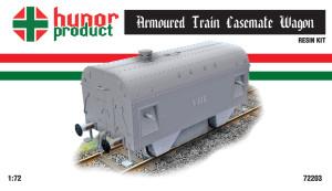 HP72203   Armoured Train Casemate carriage (thumb18357)