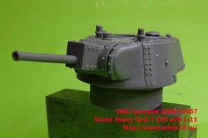 OKBV72057    Soviet Heavy Tank T-100 with L-11 (attach1 20610)