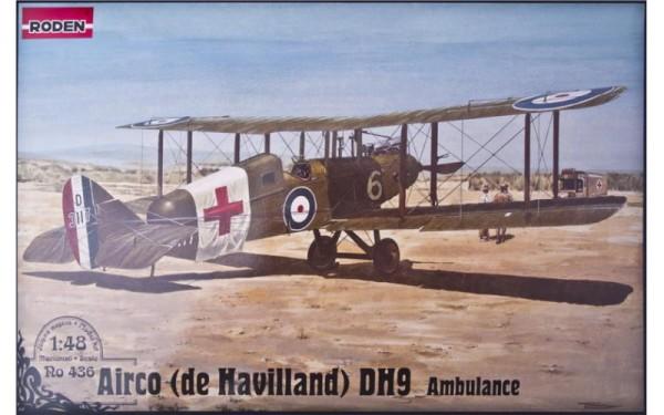 RN436   De Havilland D.H.9 Ambulance (thumb19822)