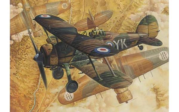 RN408   Gloster Gladiator Mk 1 (thumb19695)