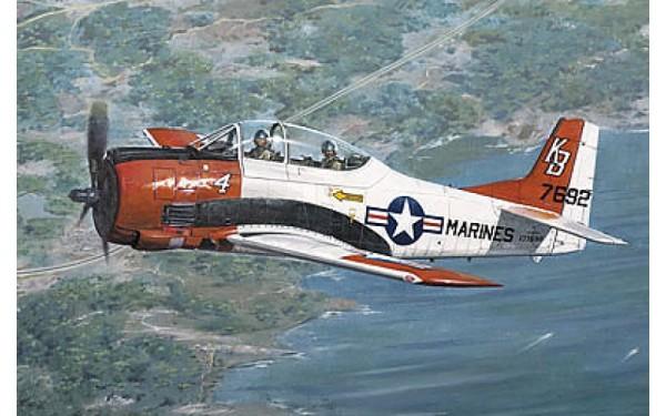 RN441   North American T-28B Trojan (thumb19842)