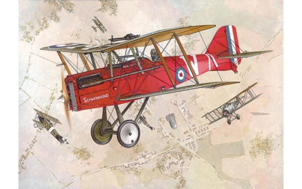 RN607   RAF S.E.5a w/Wolseley Viper (thumb19546)