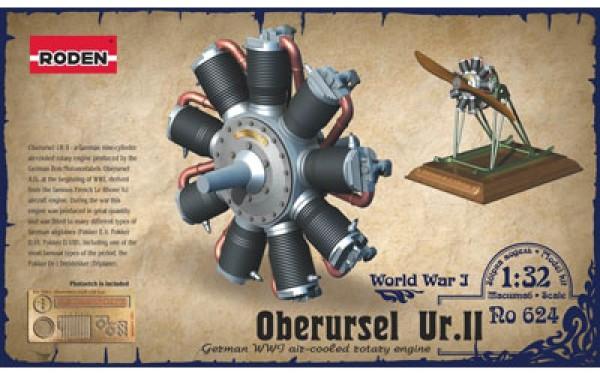 RN624   Oberursel Ur.II engine (thumb19632)