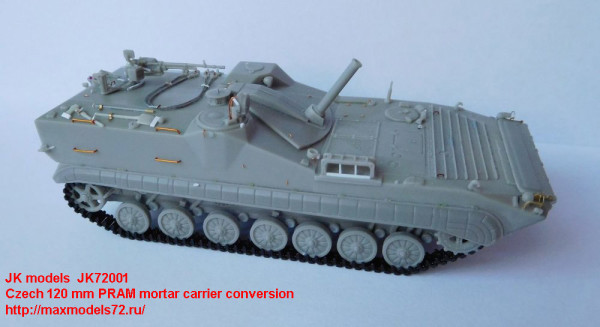 JK72001   Czech 120 mm PRAM mortar carrier (thumb21987)