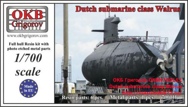 OKBN700111    Dutch submarine class Walrus (thumb19503)