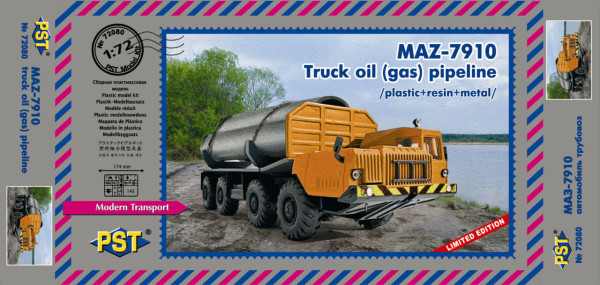 PST72080   МАЗ-7910 трубовоз (thumb19239)