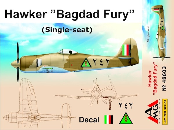 "AMG48603   Hawker ""Bagdad Fury"" (Single seat) (thumb19304)"