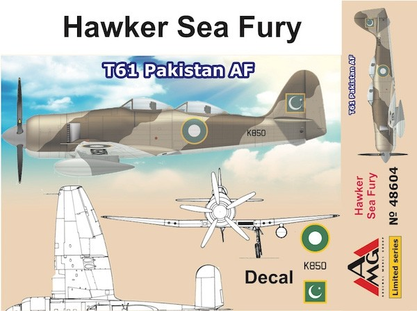 AMG48604   Hawker Sea Fury T61 Pakistan AF (thumb19306)