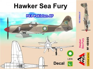 AMG48605 Hawker Sea Fury F61 Pakistan AF (thumb19308)