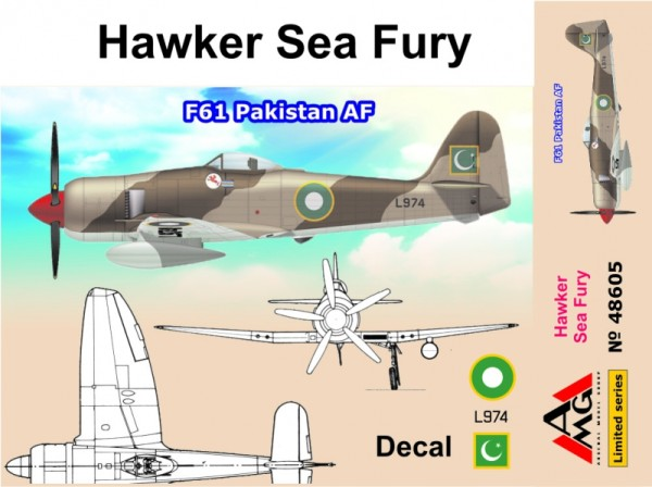AMG48605   Hawker Sea Fury F61 Pakistan AF (thumb19308)