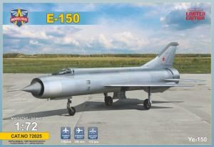 MSVIT72025 E-150 Soviet experimental fighter (thumb19341)