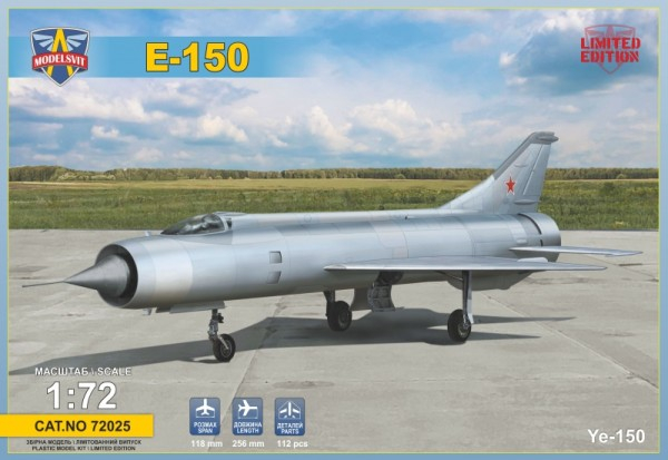 MSVIT72025    E-150 Soviet experimental fighter (thumb19341)