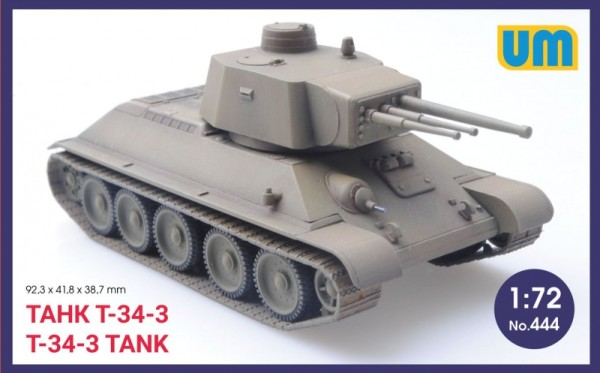 UM444   T-34-3 tank (thumb19349)