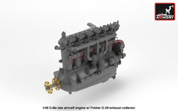 AR ACA4817   1/48 BMW D.IIIa aircraft engine (thumb21530)