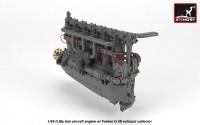 AR ACA4817   1/48 BMW D.IIIa aircraft engine (attach2 21530)