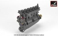 AR ACA4817   1/48 BMW D.IIIa aircraft engine (attach3 21530)