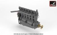 AR ACA4817   1/48 BMW D.IIIa aircraft engine (attach4 21530)